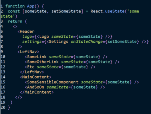 Application State Management with React